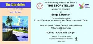The Storyteller Book Launch @ The Kadimah | Elsternwick | Victoria | Australia