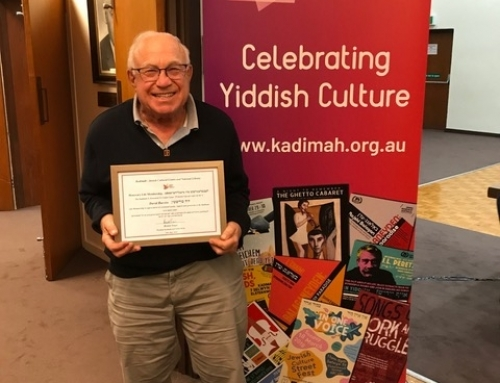 David Burstin Honoured with Life Membership